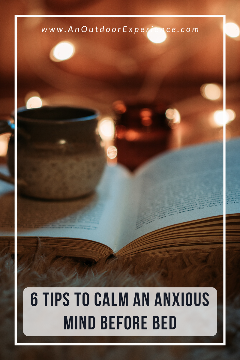 Do you have an evening ritual? If not, this post will show you how to create a cozy evening routine to calm an anxious mind.